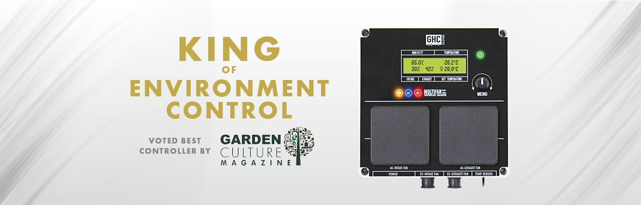 GHC Controller - Award Winning Grow Room Environment Control