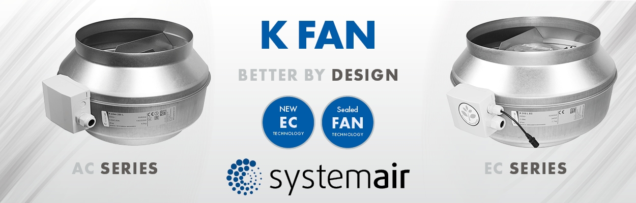 Grow Room Extractor Fan - Duct Fan - K Fan