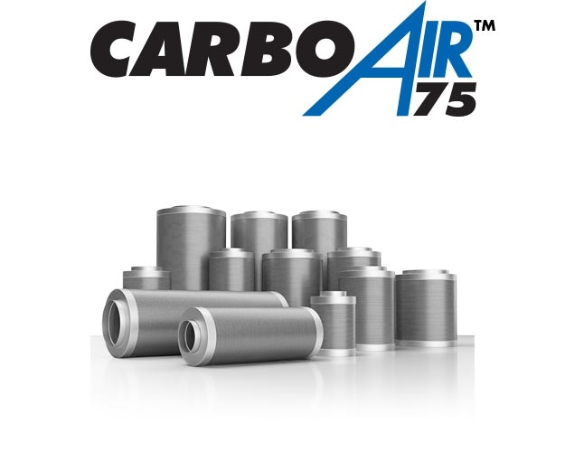 CarboAir 75 filters for the biggest fans in the industry