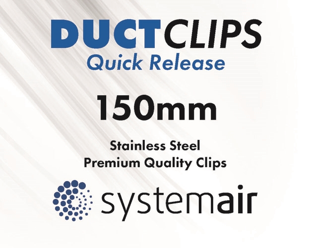 150mm duct clips