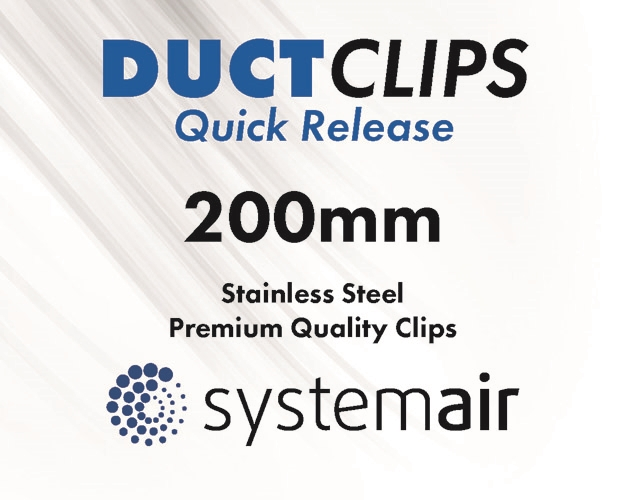 200mm Duct Clips