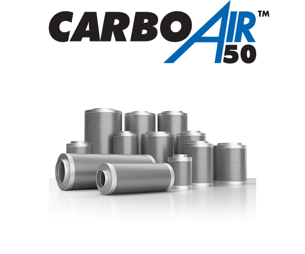 Group Shot of the CarboAir Filters