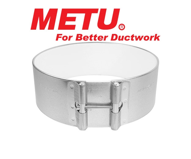 Metu Clamps for connecting ducting