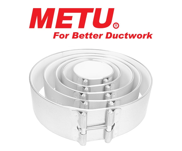 Group shot of the Metu Duct Clamps