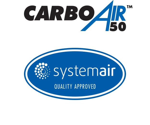 CarboAir are quality assured by Systemair