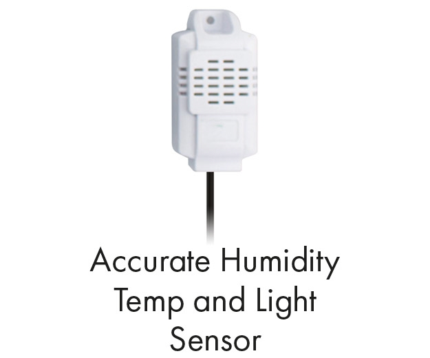 Humidity, Temperature and Light Sensor GHC Multi Fan Controller